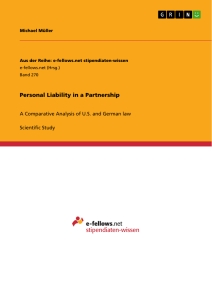 Title: Personal Liability in a Partnership