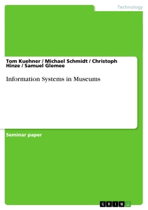 Title: Information Systems in Museums