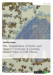 Titel: The Contribution of Porter and Kramer's Concept of Creating Shared Value to CSR Theory