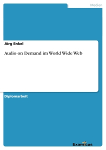 Título: Audio on Demand im World Wide Web