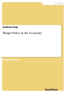Title: Merger Policy in the E-conomy
