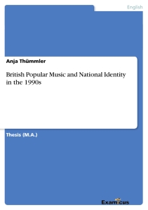 Title: British Popular Music and National Identity in the 1990s
