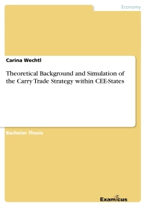 Titel: Theoretical Background and Simulation of the Carry Trade Strategy within CEE-States