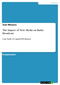 Title: The Impact of New Media on Radio Broadcast