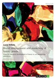 Titel: Brand management and marketing of luxury goods