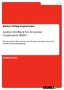Title: Analyse der Black Sea Economic Cooperation (BSEC)