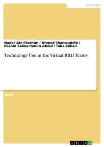 Title: Technology Use in the Virtual R&D Teams