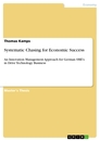 Titel: Systematic Chasing for Economic Success