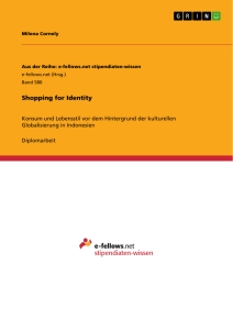 Title: Shopping for Identity