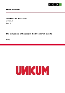 Title: The Influences of Grazers in Biodiversity of Insects