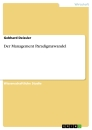 Title: Der Management Paradigmawandel