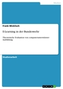 Title: E-Learning in der Bundeswehr