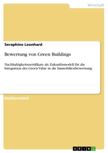 Title: Bewertung von Green Buildings