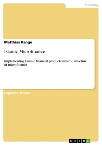 Title: Islamic Microfinance