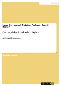 Title: Cutting-Edge Leadership Styles