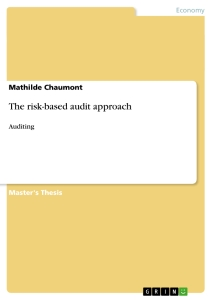 Title: The risk-based audit approach