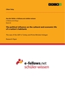 Titel: The political influence on the cultural and economic life of a nation's habitants