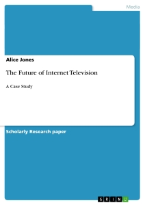Title: The Future of Internet Television
