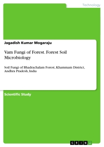 Title: Vam Fungi of Forest. Forest Soil Microbiology