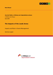 Titel: The Impacts of the Leeds Arena