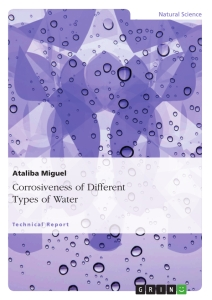 Titel: Corrosiveness of Different Types of Water