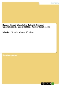 Title: Market Study about Coffee