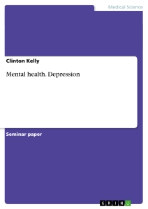 Titel: Mental health. Depression