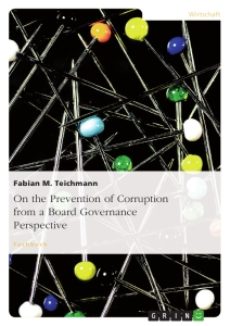 Title: On the Prevention of Corruption from a Board Governance Perspective