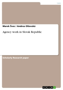 Title: Agency work in Slovak Republic