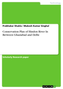 Title: Conservation Plan of Hindon River In Between Ghaziabad and Delhi