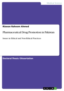 Titre: Pharmaceutical Drug Promotion in Pakistan