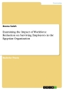 Title: Examining the Impact of Workforce Reduction on Surviving Employees in the Egyptian Organization
