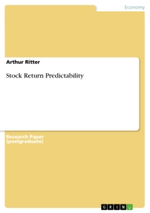 Title: Stock Return Predictability