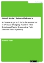 Title: An Inverse Approach for the Determination of a Viscous Damping Model of Fibre Reinforced Plastic Beams using Finite Element Model Updating
