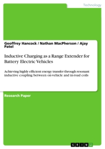 Title: Inductive Charging as a Range Extender for Battery Electric Vehicles