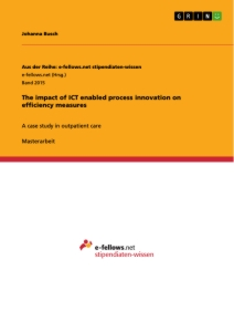 Title: The impact of ICT enabled process innovation on efficiency measures