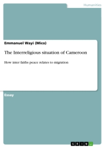 Title: The Interreligious situation of Cameroon