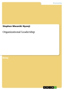 Title: Organizational Leadership