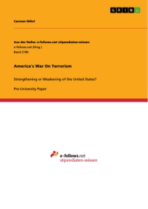 Title: America's War On Terrorism