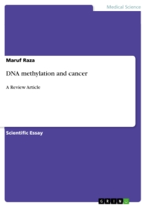 Title: DNA methylation and cancer