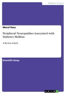 Titel: Peripheral Neuropathies Associated with Diabetes Mellitus