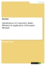 Title: Optimization of Cooperative Banks' Websites by Application of Persuasive Methods