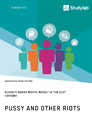 Title: Pussy and Other Riots. Russia's Human Rights Revolt in the 21st Century