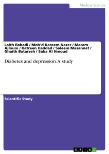 Titre: Diabetes and depression. A study