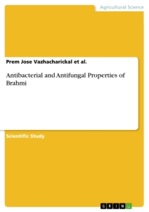 Title: Antibacterial and Antifungal Properties of Brahmi