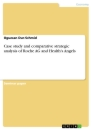 Titel: Case study and comparative strategic analysis of Roche AG and Health's Angels