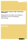 Title: Ranking Selected Public Sector Banks in India based on the Camel Rating Methodology
