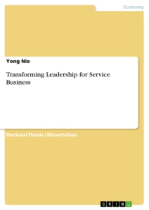 Titel: Transforming Leadership for Service Business