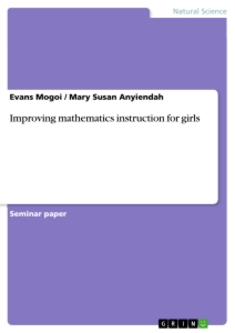 Title: Improving mathematics instruction for girls