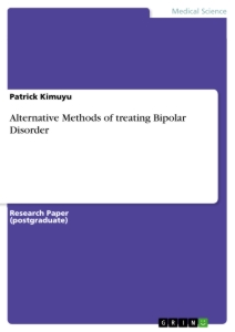 Title: Alternative Methods of treating Bipolar Disorder